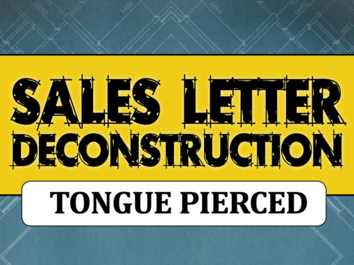 Sales Letter Deconstructed